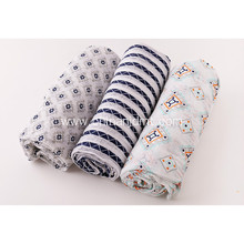 Baby swaddle muslin blanket  3 pack set